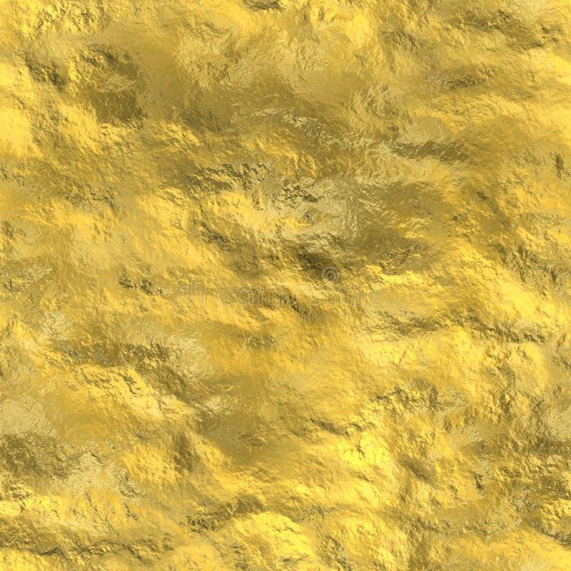Textura inconsútil del oro libre illustration