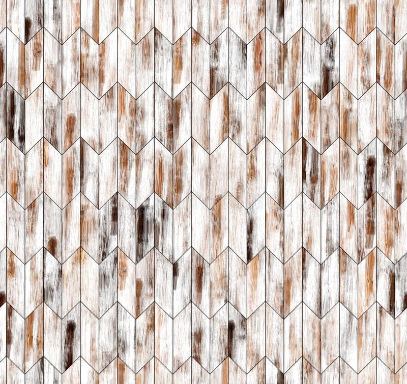 Textura inconsútil del piso del galón del entarimado natural estrecho del alerce fotos de archivo