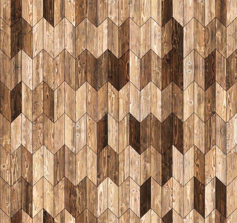 Textura inconsútil del piso del galón del entarimado natural estrecho del alerce fotografía de archivo