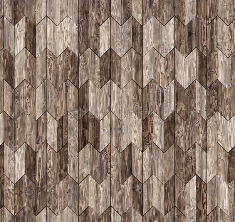 Textura inconsútil del piso del galón del entarimado natural estrecho del alerce foto de archivo