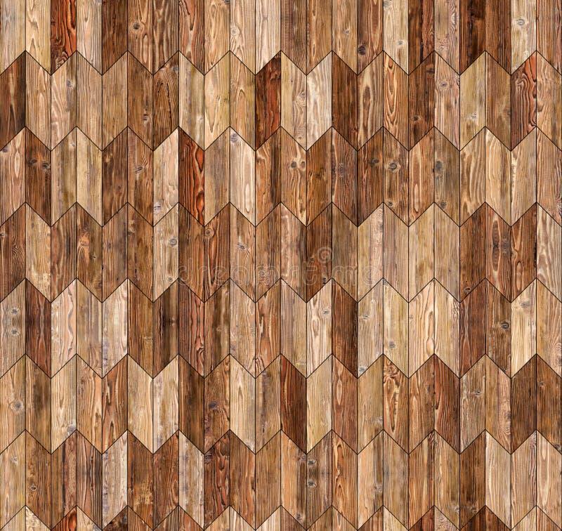 Textura inconsútil del piso del galón del entarimado natural estrecho del alerce imagen de archivo libre de regalías