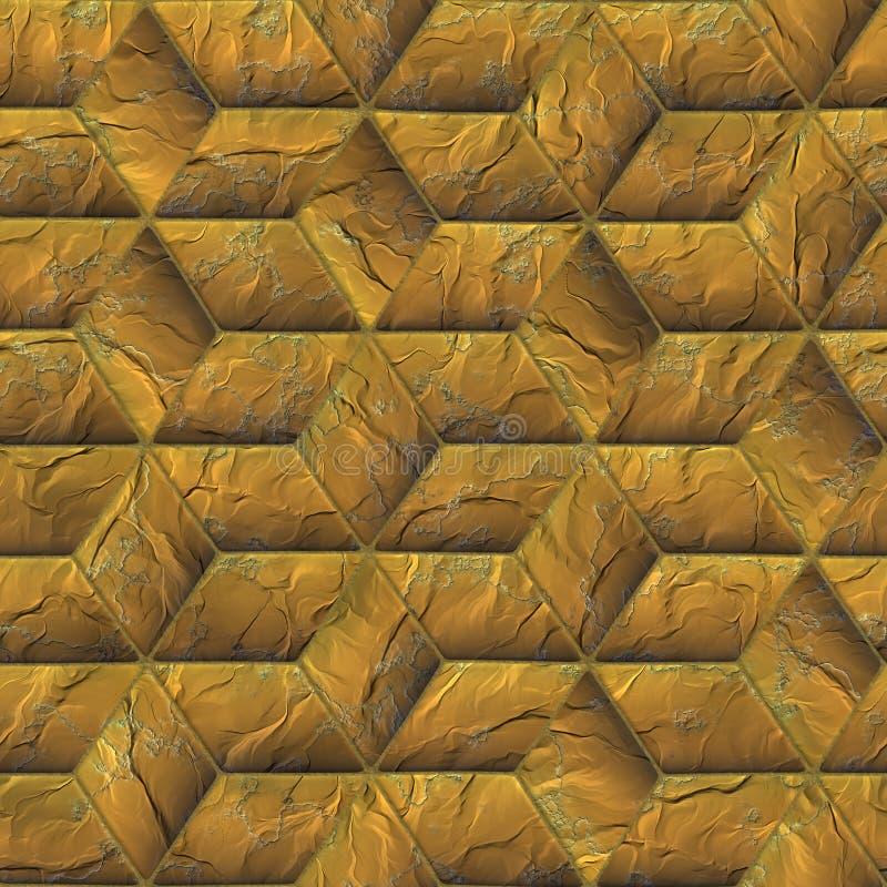 Textura inconsútil del suelo ilustración del vector