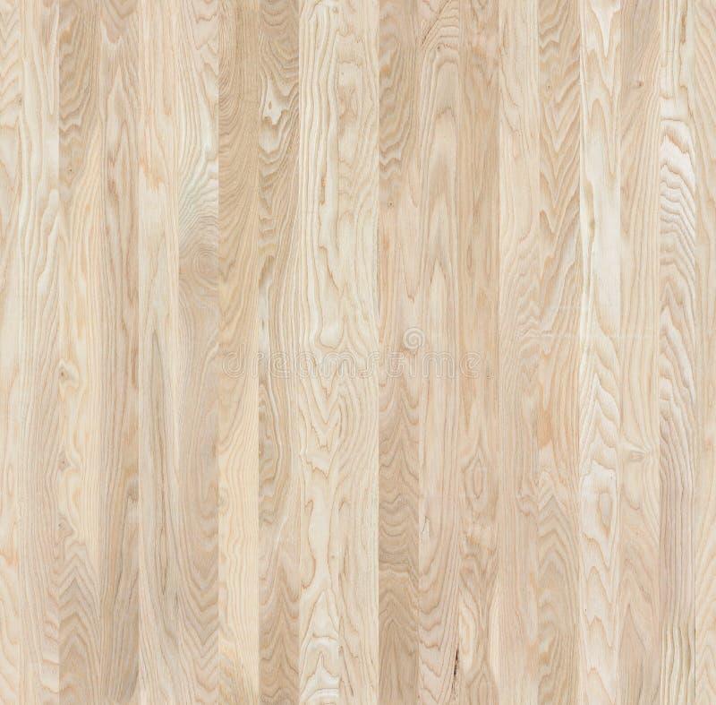 Textura inconsútil del tablero de los muebles del ceniza-árbol imagen de archivo libre de regalías