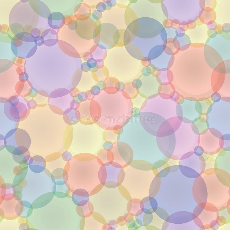 Textura inconsútil del vector abstracto en tonos en colores pastel ilustración del vector