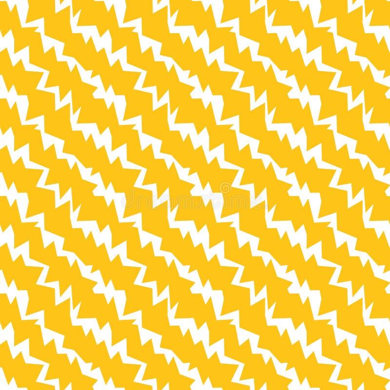 Textura inconsútil eléctrica de la energía del extracto ilustración del vector