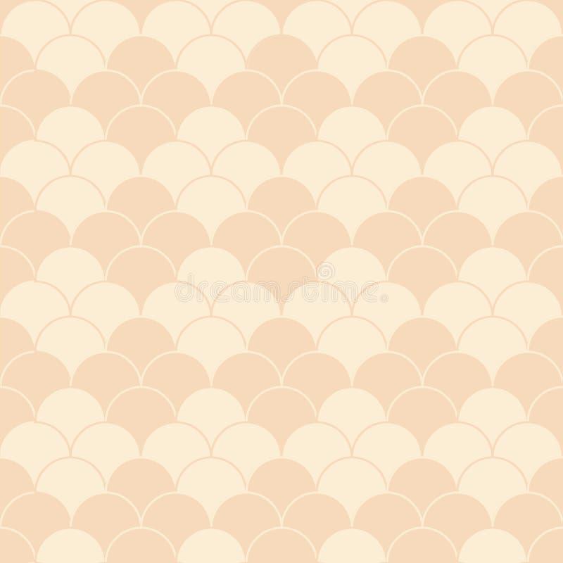 Textura inconsútil en colores pastel del vector con la estructura de los rombos stock de ilustración