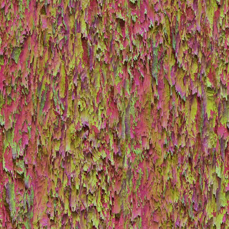 Textura inconsútil que cuelga abajo de los trapos rasgados gastados paño o papel imagenes de archivo