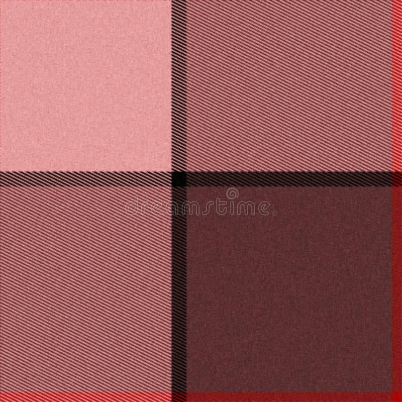 Textura inconsútil realista con las cuerdas de rosca visibles stock de ilustración