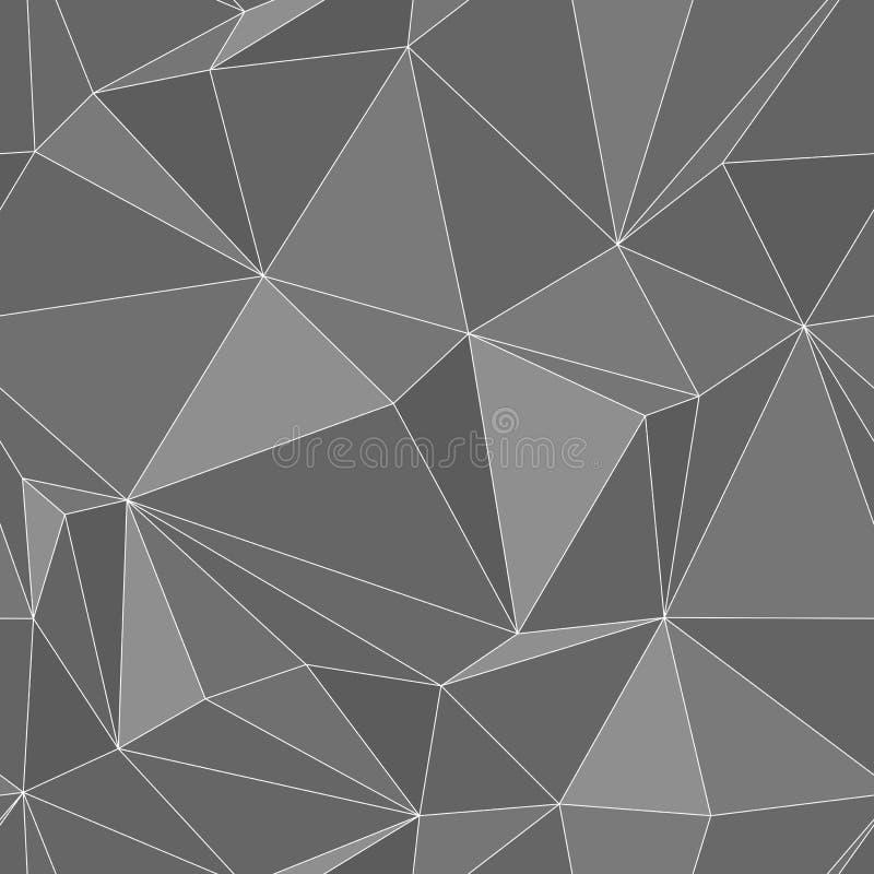 Textura inconsútil - vector abstracto eps8 de los polígonos ilustración del vector