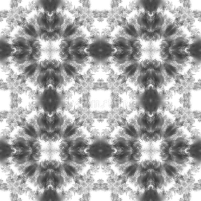 Textura incons?til de la tela, modelo blanco y negro, fondos del extracto de las materias textiles imagen de archivo