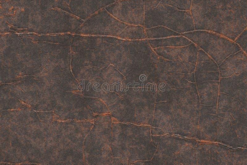 Textura industrial da placa de cobre do vintage Abstrac metálico do ferro ilustração do vetor