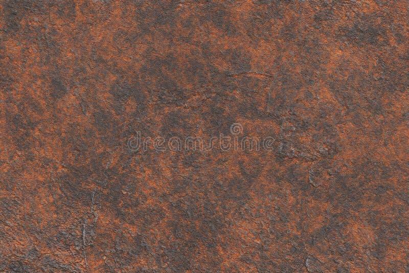 Textura industrial da placa de cobre do vintage Projeto abstrato met?lico do ferro foto de stock royalty free