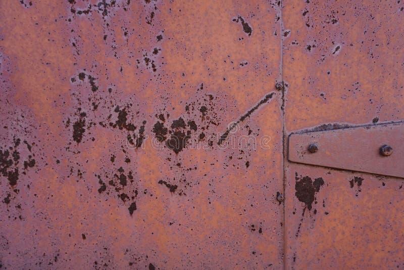 Textura industrial metal oxidado del vintage estilo punky Música rock fotos de archivo