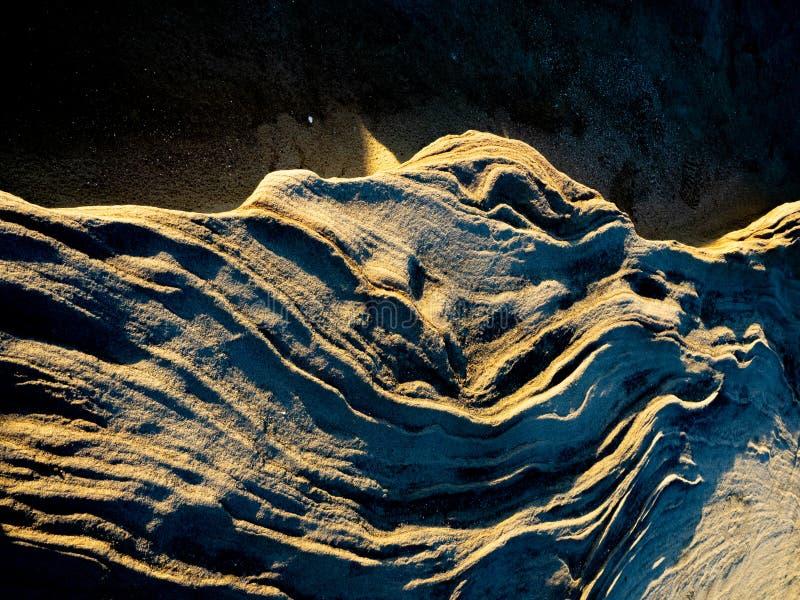 Textura intrincada da rocha imagem de stock