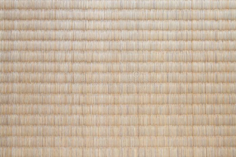 Textura japonesa da esteira de tatami imagem de stock