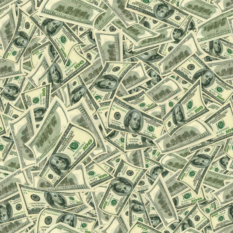 Textura Jointless dos dólares como um símbolo do lucro fotografia de stock royalty free