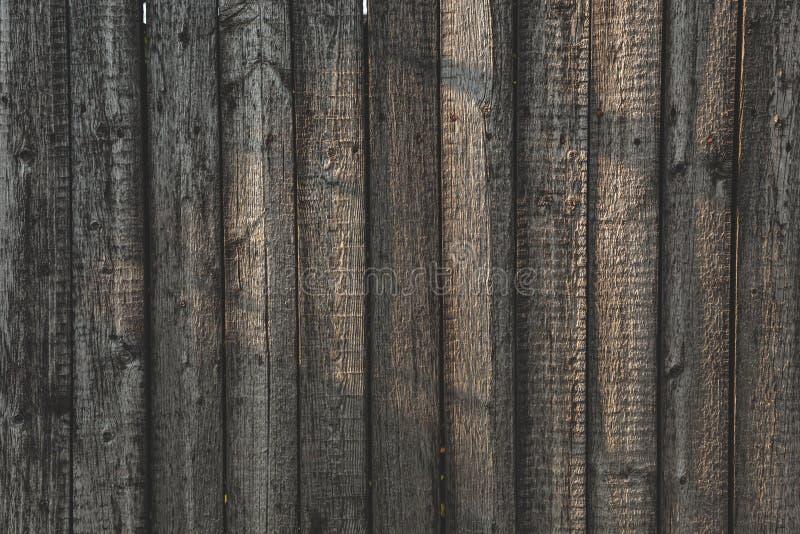 Textura larga de Grey Barn Wooden Wall Planking Venezianas velhas Gray Background gasto rústico da madeira maciça fotos de stock royalty free