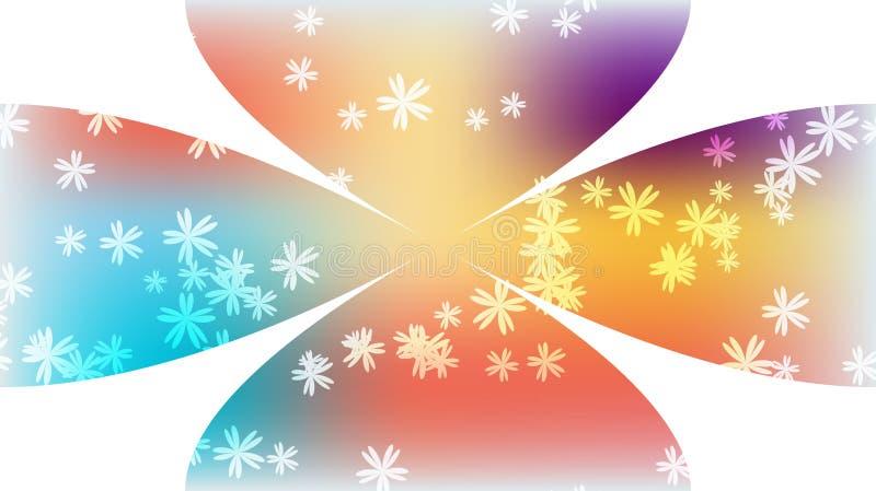 Textura lejos coloreado del swirlin abigarrado brillante rosado azul brillante multicolor mágico cósmico circular festivo hermoso libre illustration