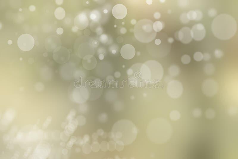 Textura ligera abstracta del fondo del bokeh, luces borrosas, Christma ilustración del vector