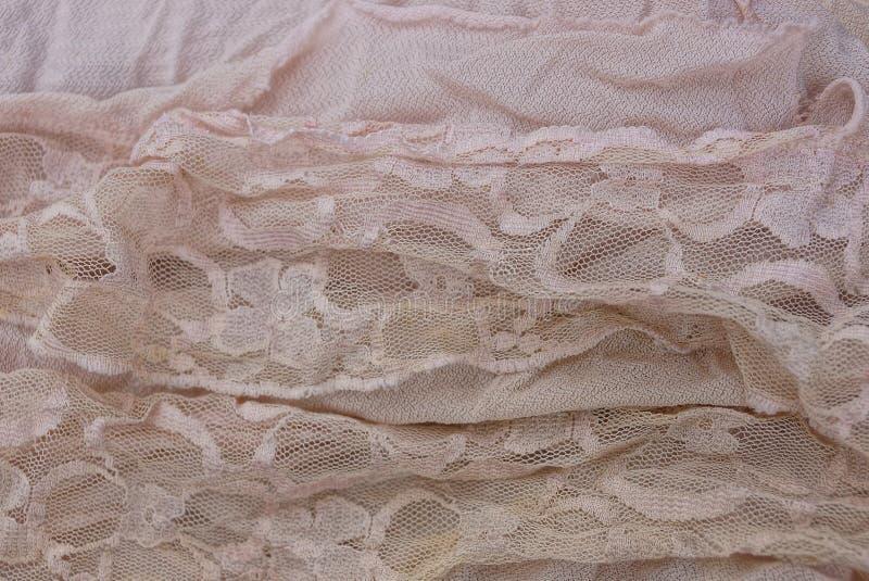 Textura ligera de un pedazo de cortinas del paño foto de archivo libre de regalías