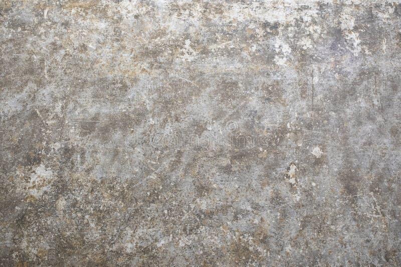 Textura lisa concreta da cor oxidada cinzenta Parede natural oxidada foto de stock