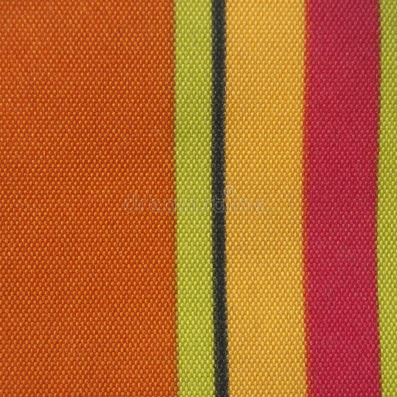 Textura listrada da tela da cor fotos de stock