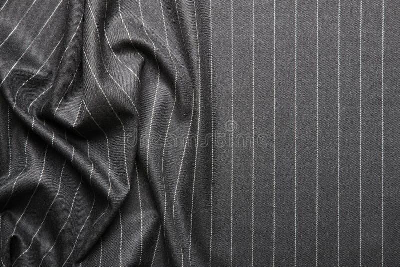 Textura listrada do terno do Pin fotografia de stock royalty free