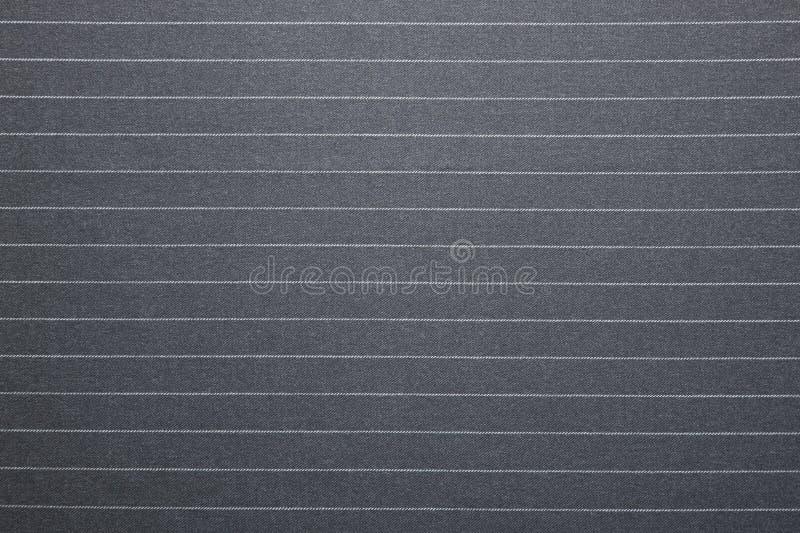 Textura listrada do terno do Pin fotografia de stock