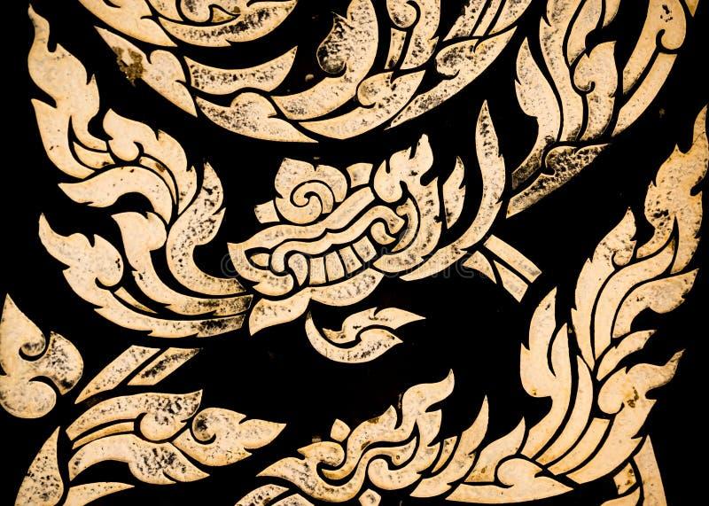 Textura listrada tailandesa imagem de stock