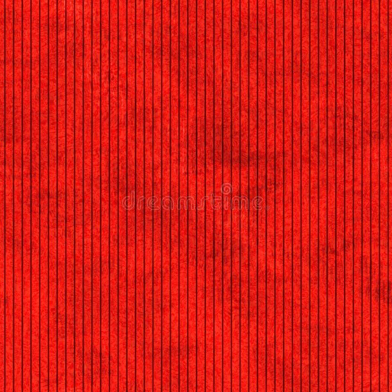 Textura listrada vertical vermelha abstrata ilustração do vetor