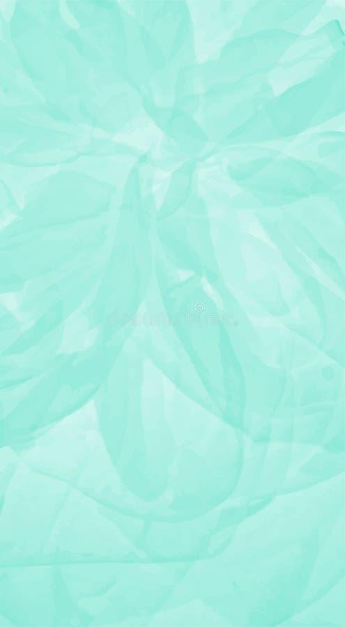 Textura macia verde ilustração stock