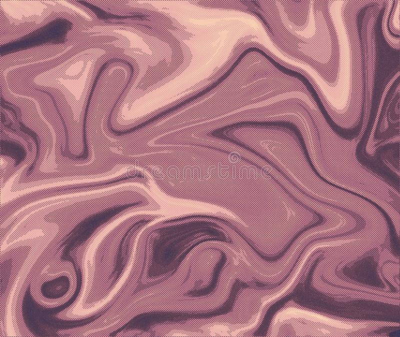 Textura marmoreando Efeito Marbleized fotografia de stock royalty free