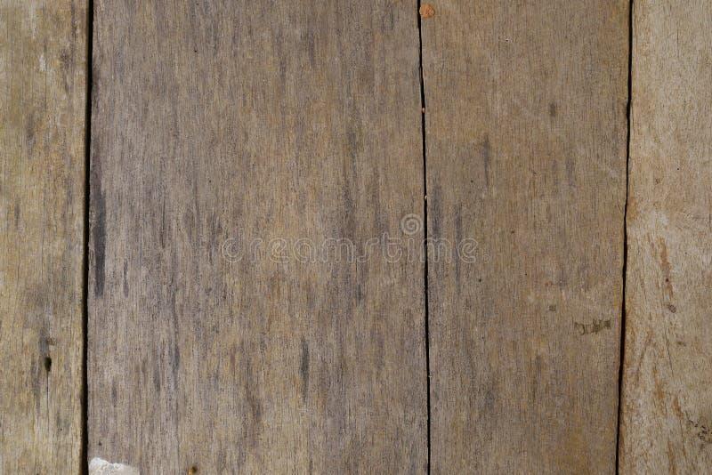 Textura marrón de madera de bambú del grano, vista superior del fondo de madera de la pared de la tabla de madera imágenes de archivo libres de regalías