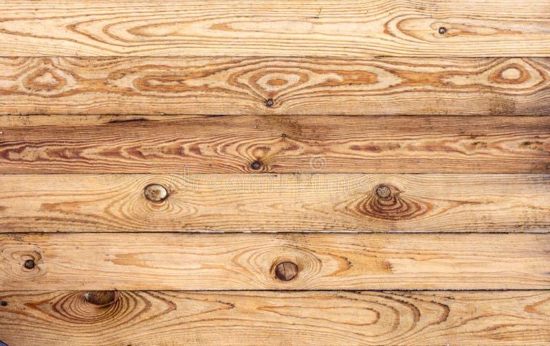 Textura marrón de madera del grano, vista superior del fondo de madera de la pared de la tabla de madera imágenes de archivo libres de regalías