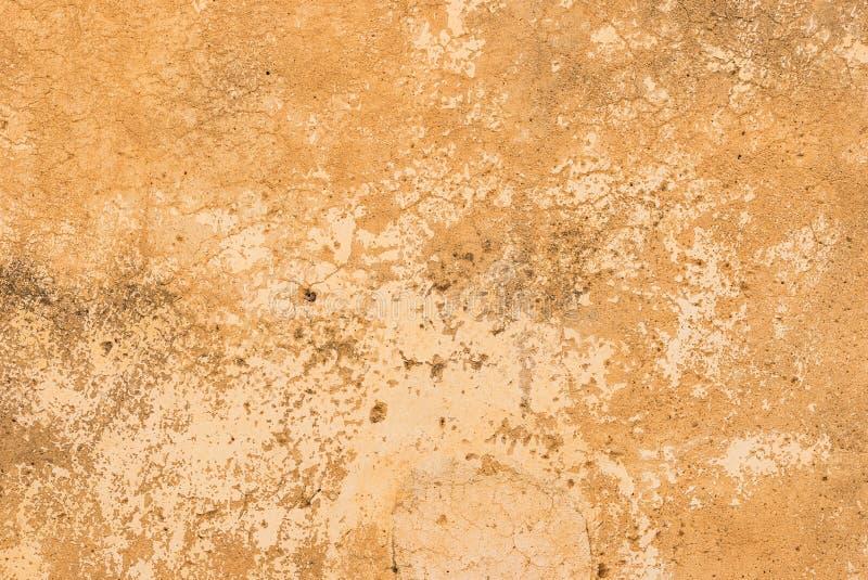 Textura marrón del fondo de la pared del yeso del vintage del Grunge imagen de archivo libre de regalías