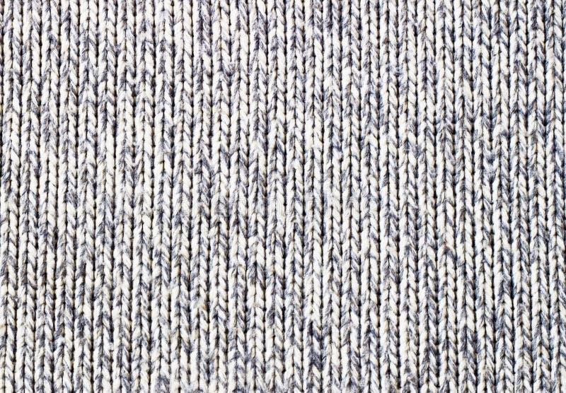 Textura marrón hecha punto del grunge de la lona como fondo imagen de archivo libre de regalías