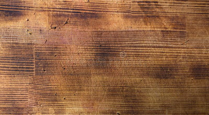Textura marrom de madeira da grão, ideia superior do fundo de madeira da parede da tabela de madeira fotografia de stock royalty free