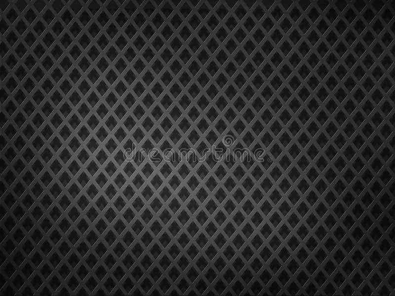 Textura metálica ilustração do vetor