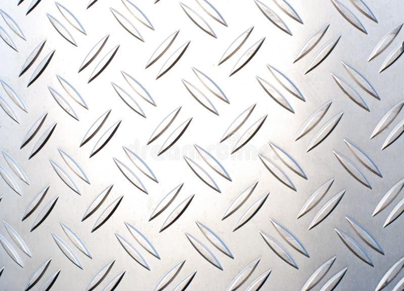 Textura metálica imagens de stock
