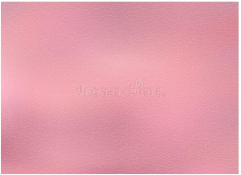 Textura metálica de Rose Gold ilustração stock