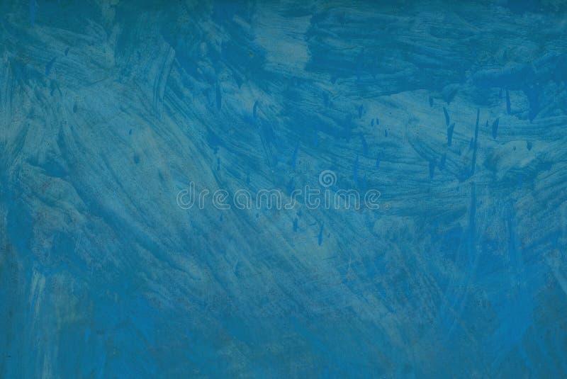 A textura metálica do cinza azul do ferro pintou a parede imagens de stock