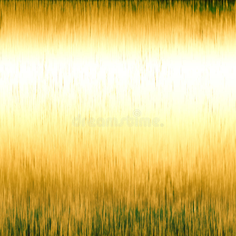 Textura metálica do ouro ilustração royalty free