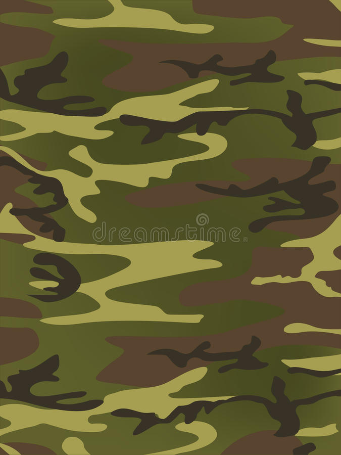Textura militar stock de ilustración
