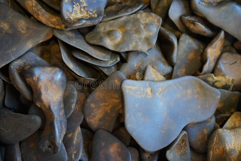 textura mineral de la limonita imagen de archivo