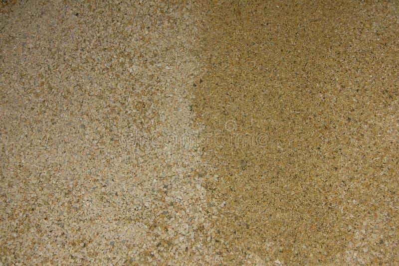 Textura mineral de mármore do grão da migalha amarela e bege imagem de stock royalty free
