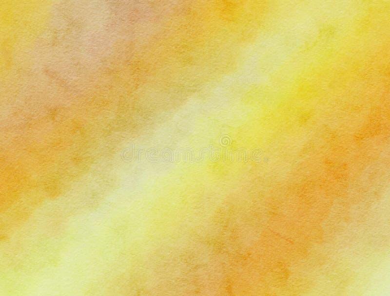 Textura misturada do fundo do Watercolour ilustração royalty free