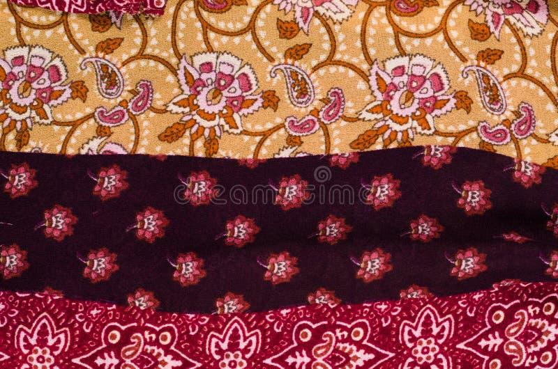 Textura modelada de la tela de algodón imagen de archivo libre de regalías