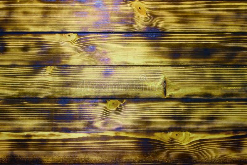 Textura moderna da porta da madeira do grunge riscado e encaustic - fundo abstrato bonito da foto fotografia de stock