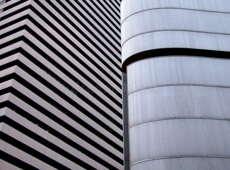 Textura Moderna Del Edificio Imágenes de archivo libres de regalías