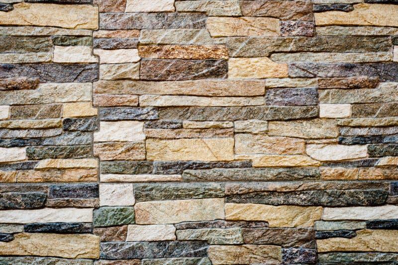 Textura moderna do fundo da parede de pedra foto de stock royalty free